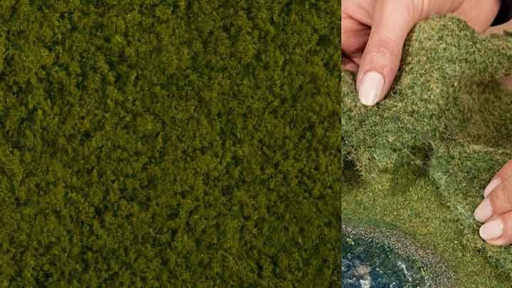 NOCH 07270 — Растительность светло-зелёная (фолиаж ~200×230мм≈0,046м²), 1:10—1:250